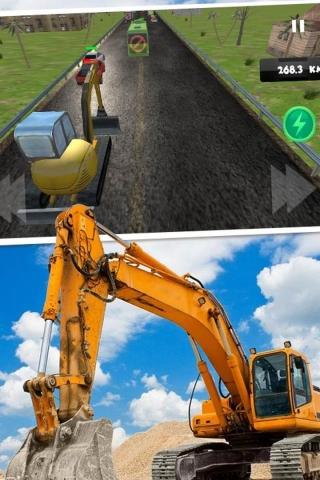 模拟驾驶挖掘机3D安卓APP下载()